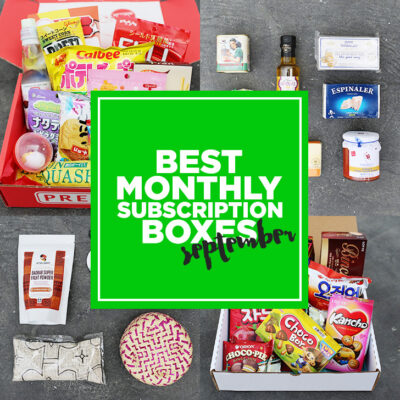 Favorite Subscription Boxes - September Edition.