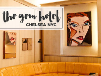 The Gem Hotel Chelsea NYC.