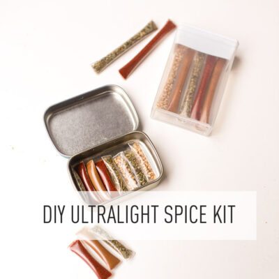 DIY Travel Spice Kit for Foodies or Gourmet Camping Food