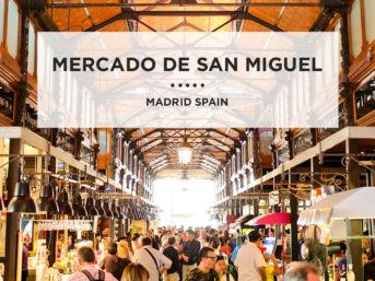 Food Lover's Heaven at Mercado de San Miguel Plaza Mayor Madrid.