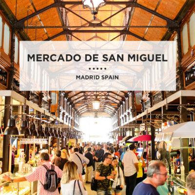 Food Lover's Heaven at Mercado de San Miguel Plaza Mayor Madrid.