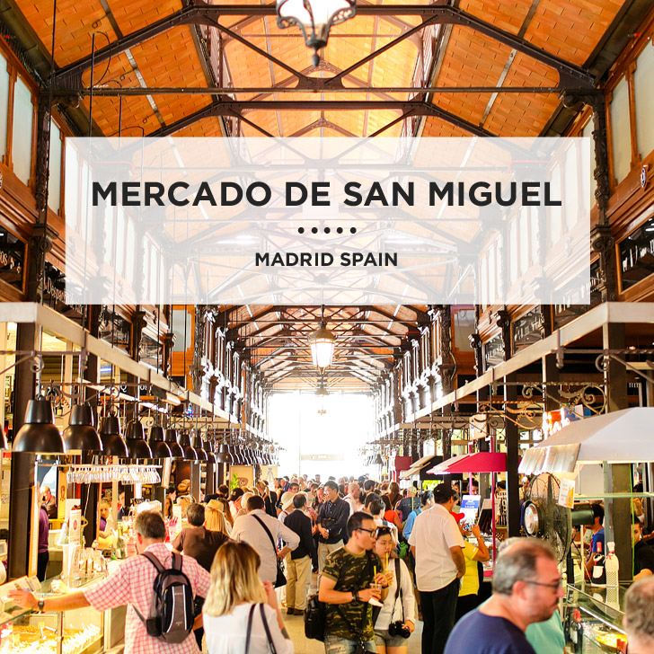 In Foodie Heaven at Mercado de San Miguel Madrid