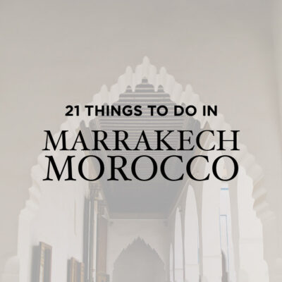 21 Fascinating Things to Do in Marrakech Morocco // http://localadventurer.com/things-to-do-in-marrakech-morocco/