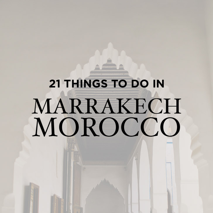 21 Fascinating Things to Do in Marrakech Morocco // https://localadventurer.com/things-to-do-in-marrakech-morocco/