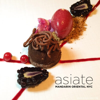 Asiate NYC - Beautiful Views and Fine Dining inside the Mandarin Oriental New York.