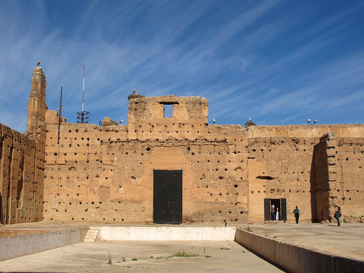 El Badi Palace (21 Fascinating Things to Do in Marrakech Morocco).