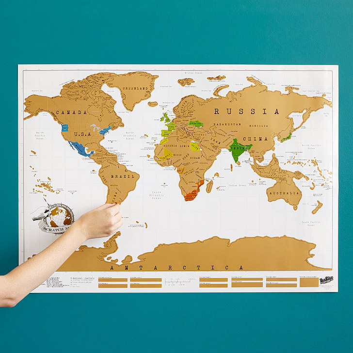 15 wanderful ways to track your travels local adventurer scratch off world map gumiabroncs Image collections