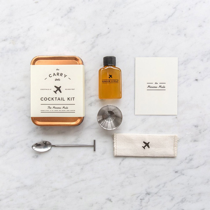 The Carry On Cocktail Kit (10 Genius Travel Hacks for In Flight Dining).