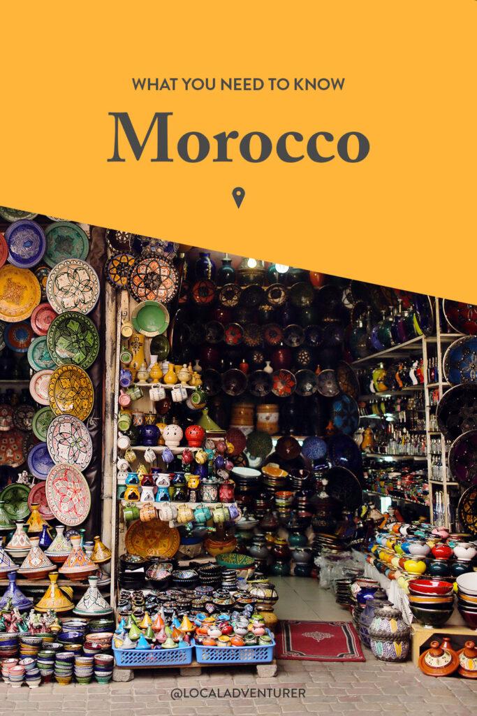 Travel Tips Morocco