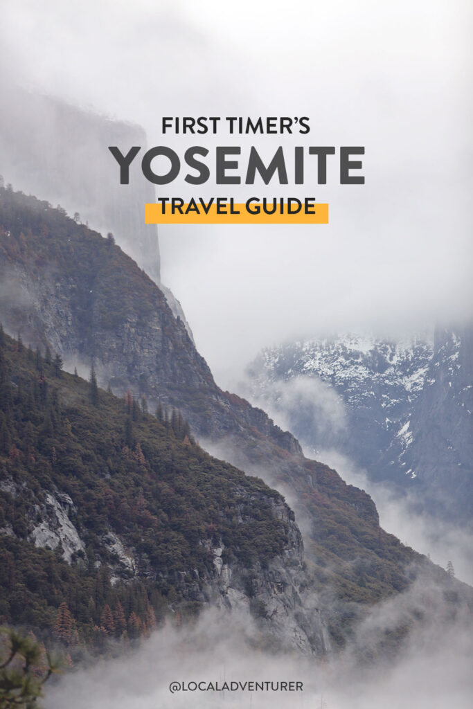 Yosemite Things to Do, Yosemite Attractions, and What to Do in Yosemite National Park // localadventurer.com