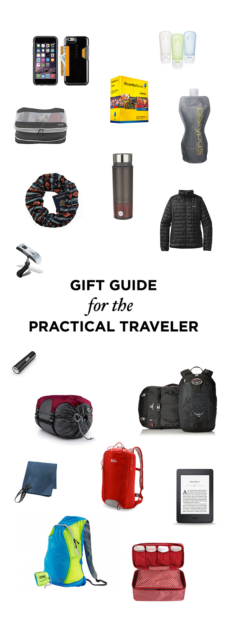 Travel Gift Guide for the Practical Traveler