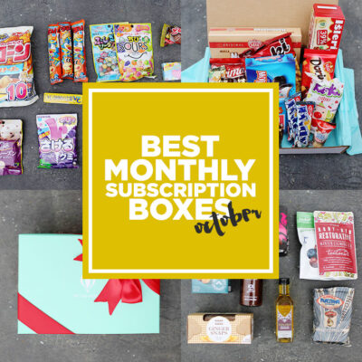 Last Month of Unboxings! The Best Travel and Best Food Subscription Boxes.