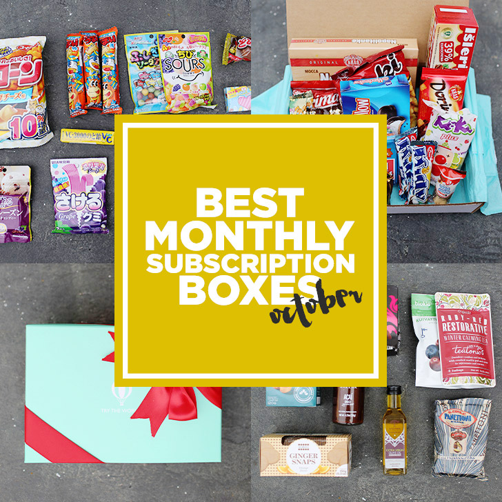 Last Month of Unboxing Videos Ft. Globe In, Try the World, & More!