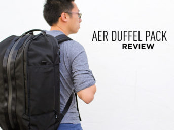 The Perfect Office and Gym Bag - Aer Duffel Pack Review.