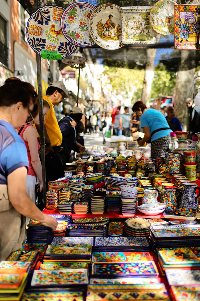 El Rastro Madrid Market + 21 Remarkable Things to Do in Madrid Spain