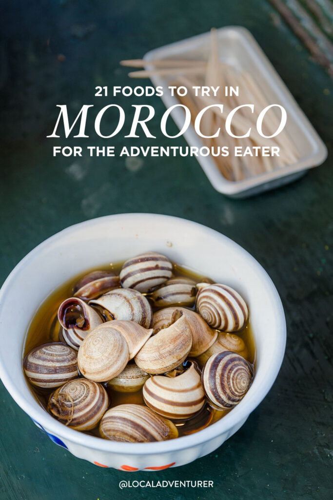 Famous Moroccan Food