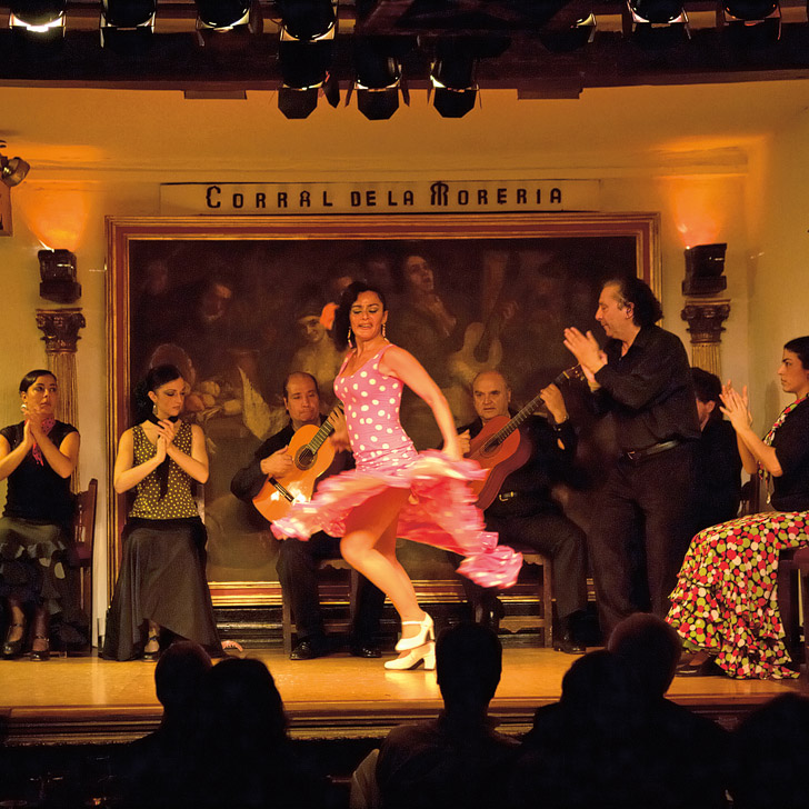 See a Flamenco show at Corral de la Moreria (+ 21 Remarkable Things to Do in Madrid Spain).
