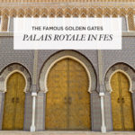 The Famous Doors at the Golden Gates of Palais Royale