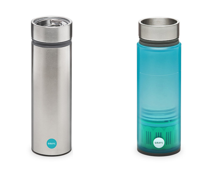 Grayl Legend or Grayl Quest Water Filter (25 Best Gifts for Travelers: A Practical Gift Guide).