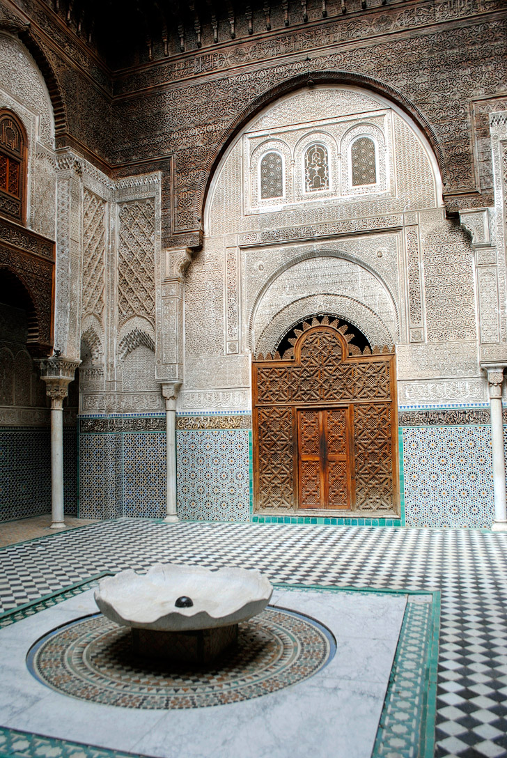 Al-Attarine Madrasa (21 Amazing Things to Do in Fes Morocco).