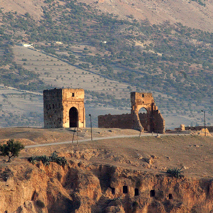 Merenid Tombs (21 Amazing Things to Do in Fes Morocco).