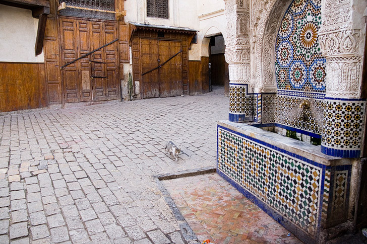 Neijarine Fountain & Museum (21 Amazing Things to Do in Fes Morocco).
