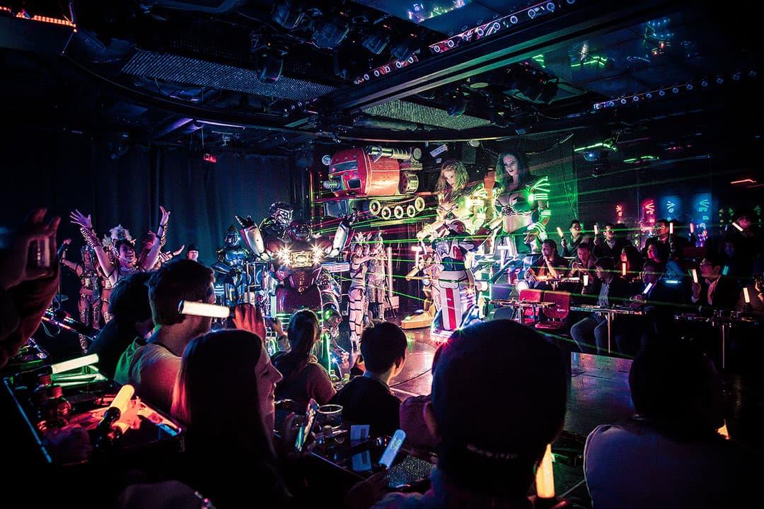 Robot Restaurant in Shinjuku Tokyo