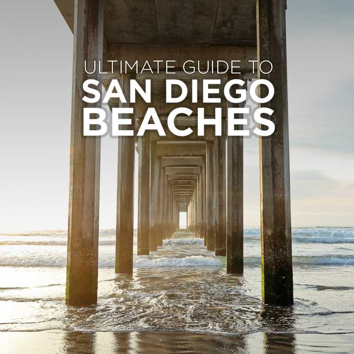 Ultimate Guide to San Diego Beaches + Map to Help You Get Around // localadventurer.com