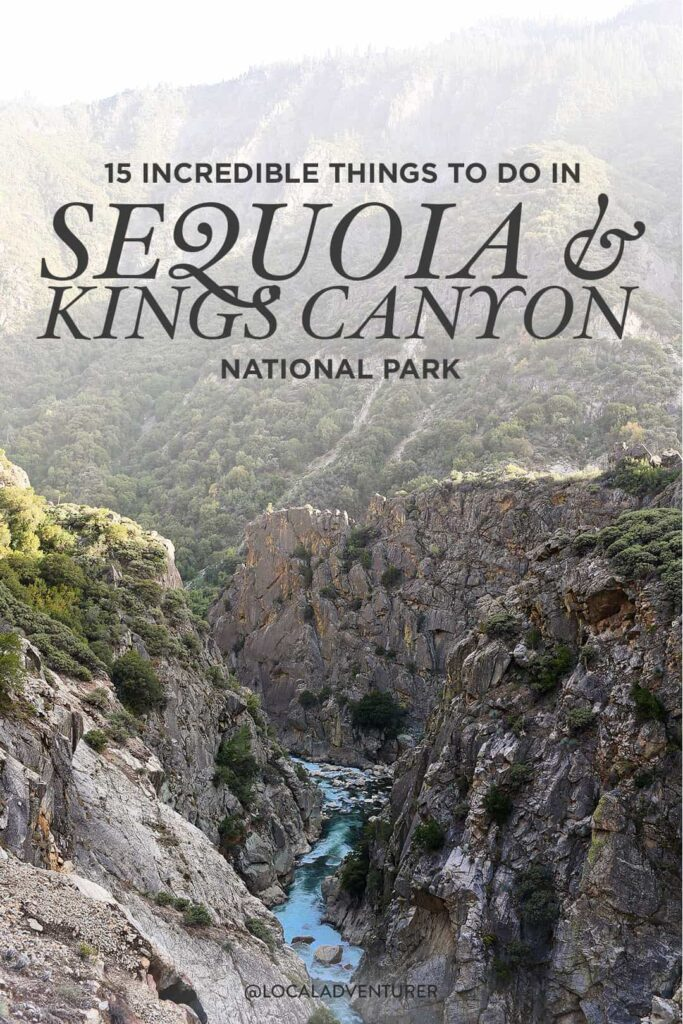 15 Things to Do in Sequoia National Park CA and Kings Canyon National Park