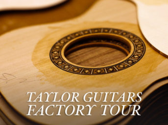 Exciting Behind the Scenes at the Taylor Guitar Factory Tour El Cajon San Diego.