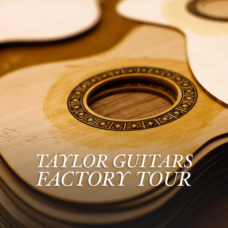See How Guitars are Made at the Taylor Guitars Factory Tour