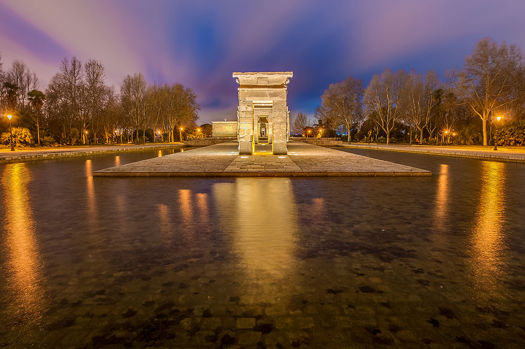 Temple of Debod + 21 Remarkable Things to Do in Madrid Spain