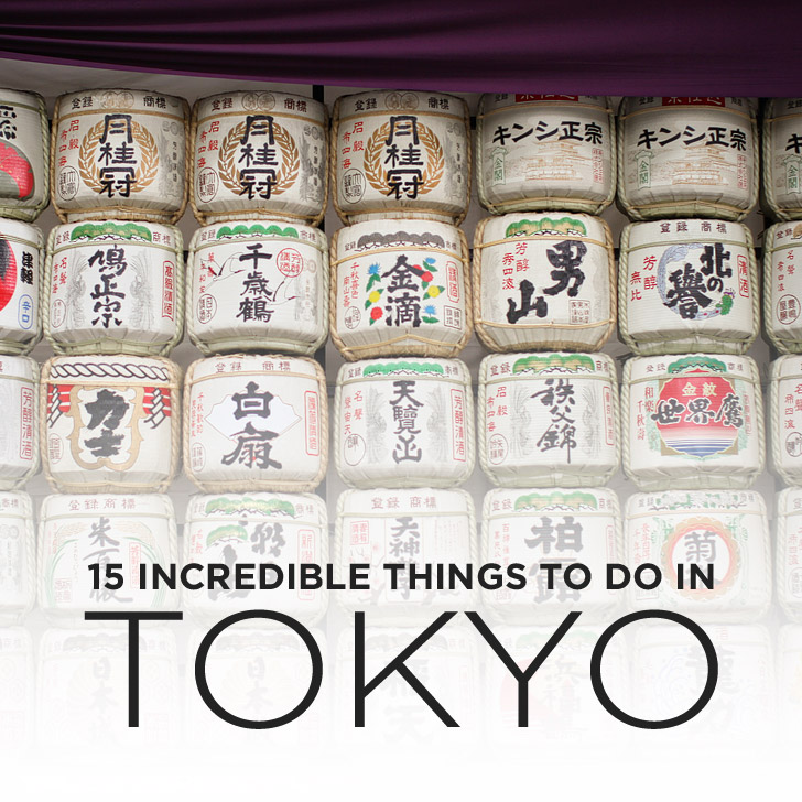 15 Incredible Things to Do in Tokyo Japan.