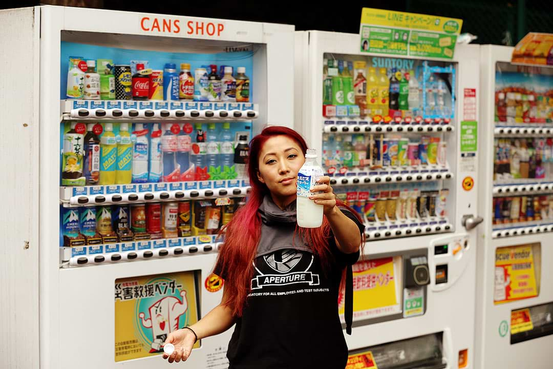 Eat from the Weird Vending Machines of Japan