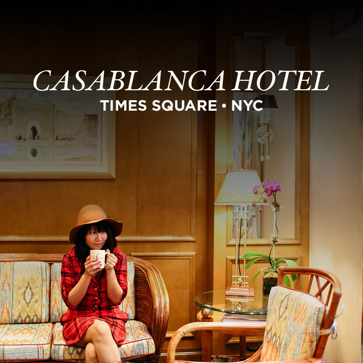 Casablanca Hotel NYC – A Times Square Hotel You Can't Miss