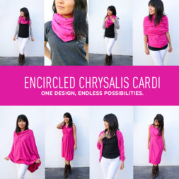 8+ Ways to Wear the Encircled Chrysalis Cardi ( Travel Cardigan + Dress + Scarf )