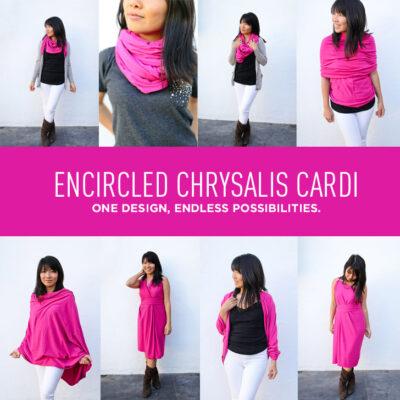Encircled Chrysalis Cardi - A Versatile Travel Cardigan + Dress + Scarf - One Design, Endless Possibilities.