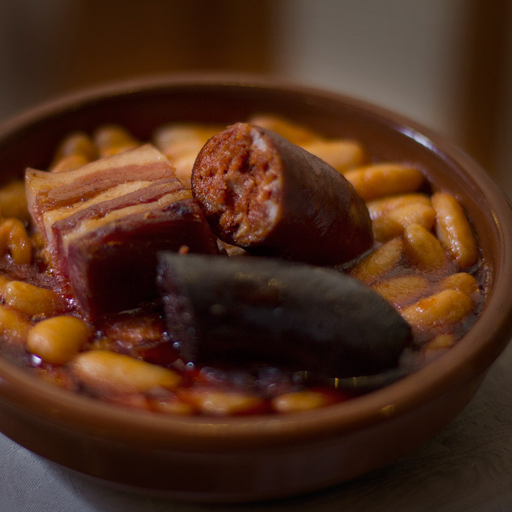 Fabada Asturiana is a popular Spanish dish that's typically served during the cold winter months. Also see the other 15 Spanish foods you must try.