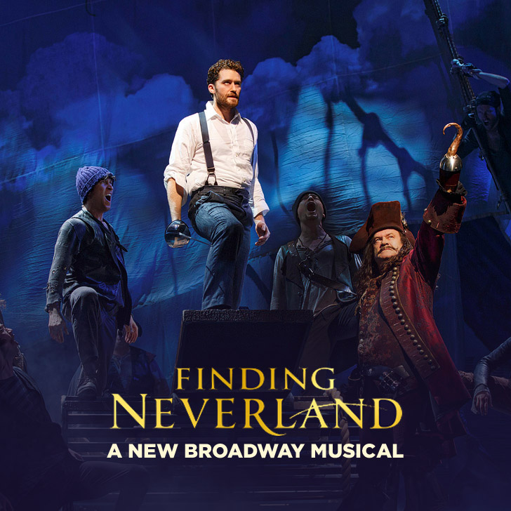 Finding Neverland the Musical - First Broadway on Broadway!