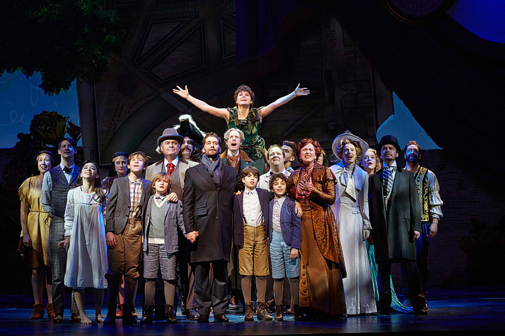 Finding Neverland the Musical // Broadway on Broadway!