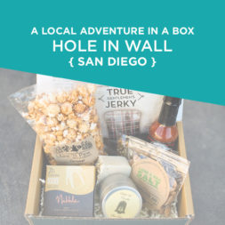 Your Very Own Local Adventure in a Box – Hole in Wall Box