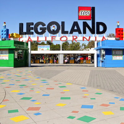 Around the World Tour at Legoland California.
