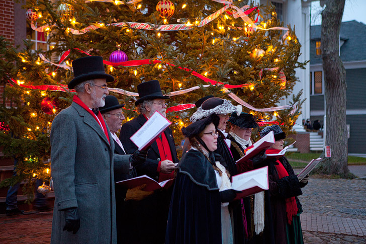 Christmas in Nantucket Massachusetts (15 Best Places to Celebrate Christmas in the US).