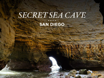 Secret Sea Cave San Diego.