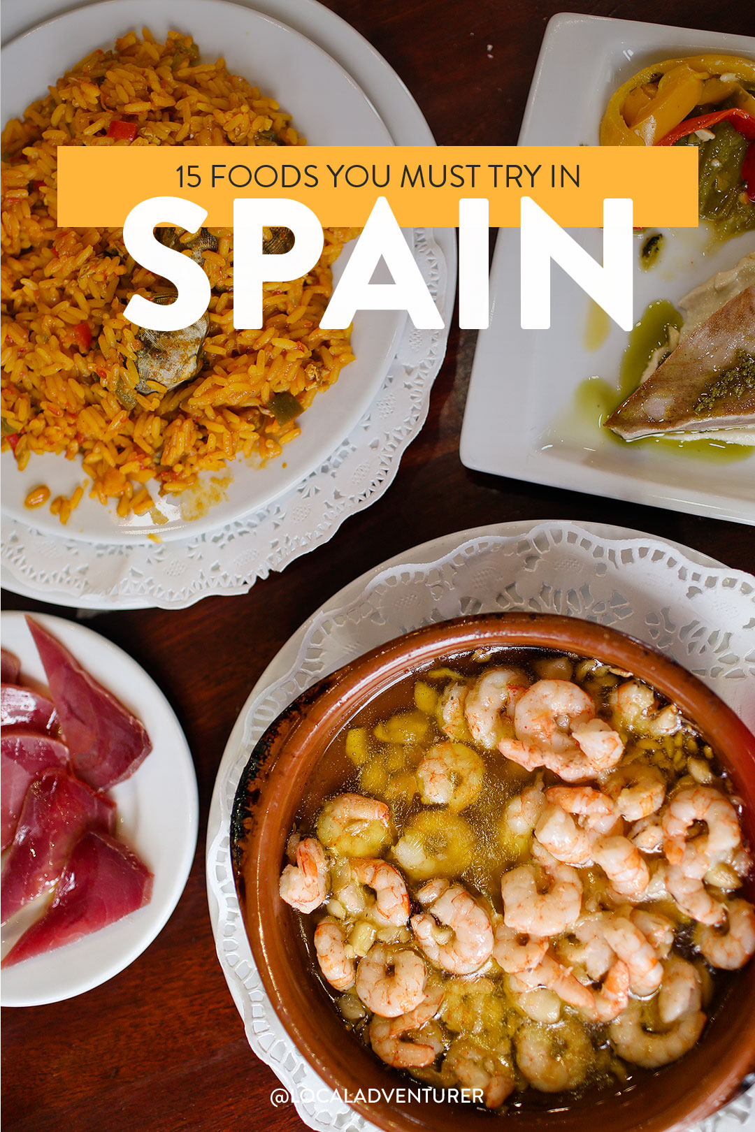 Spanish Food List - 15 Foods You Must Try in Spain