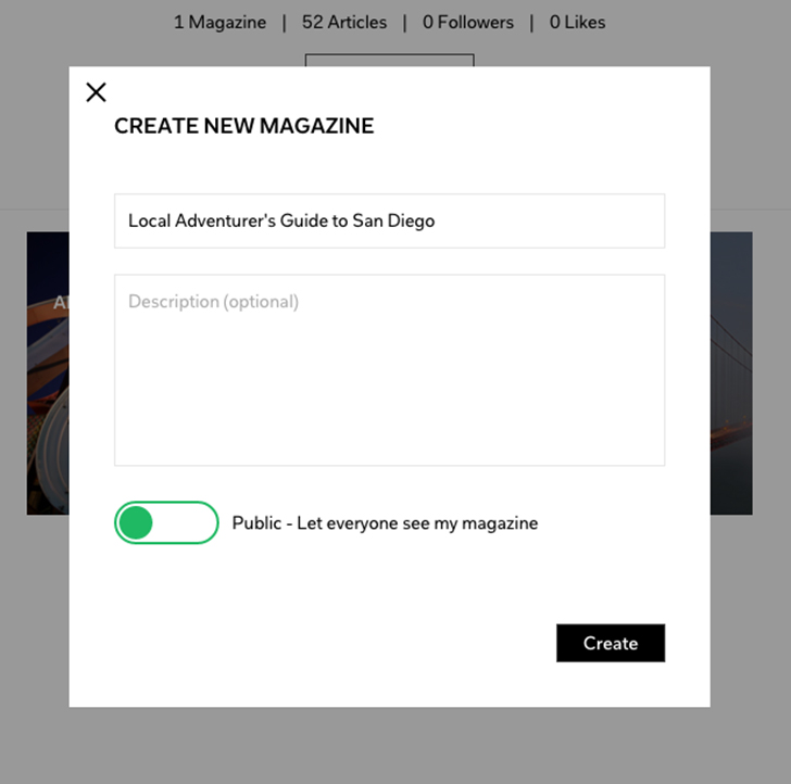 How to Create a Flipboard Magazine: Step 2.