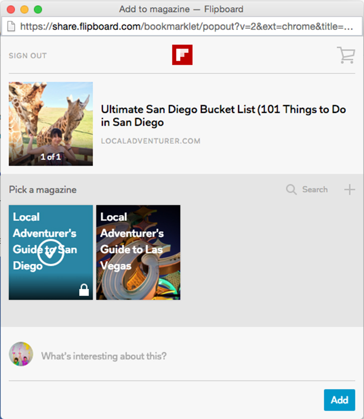 How to Create a Flipboard Magazine.
