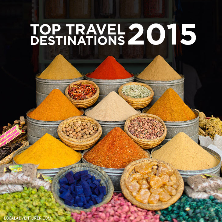 Top Travel Destinations 2015