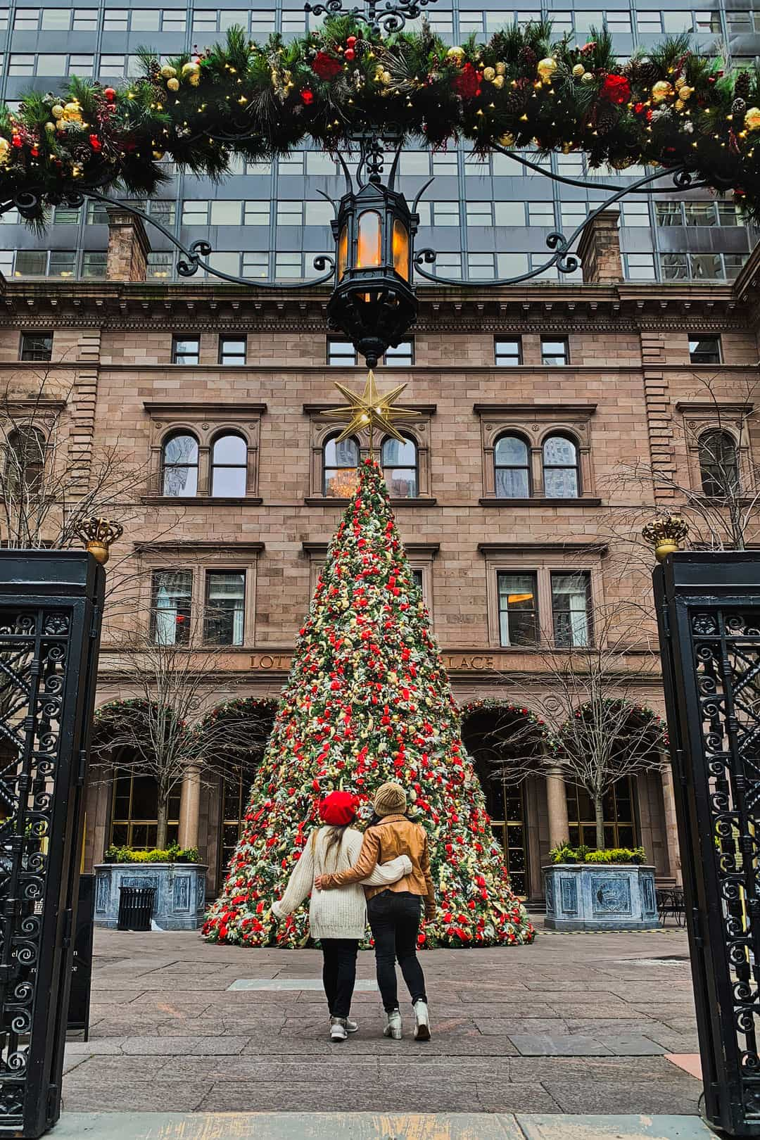 Lotte New York Palace Christmas Tree + What to Do in New York At Christmas
