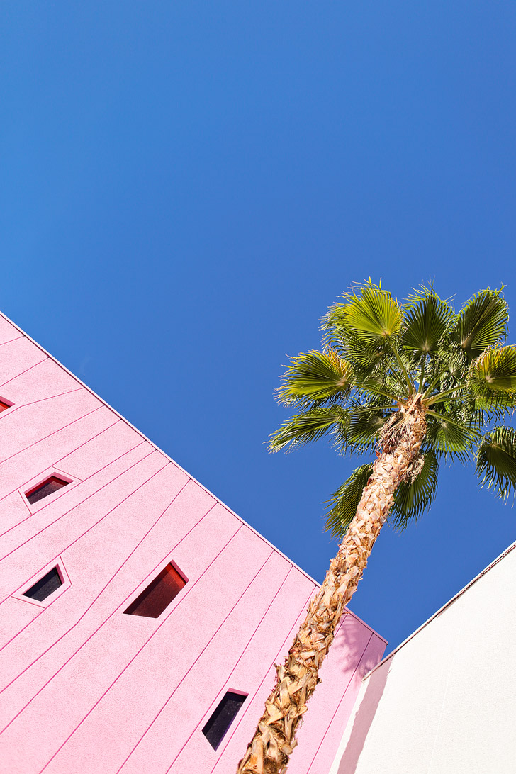 Most Colorful Hotel - The Saguaro Hotel Palm Springs CA USA.